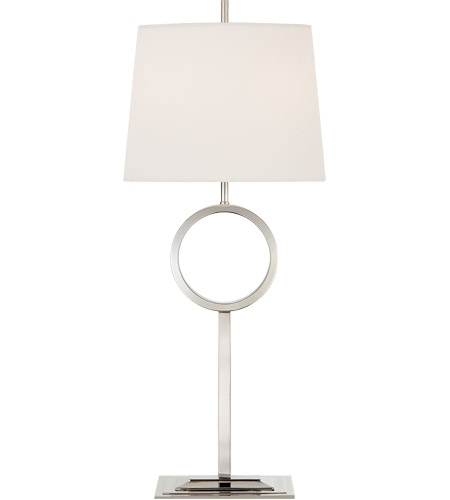 Visual Comfort Thomas OBrien Simone 33 inch 60 watt Polished Nickel Buffet Lamp Portable Light, Medium TOB3631PN-L - Open Box photo