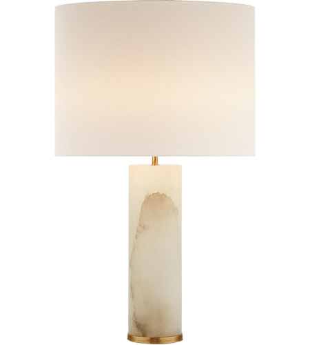 Visual comfort aerin lauder 2 light table lamp in alabaster with visual comfort aerin lauder 2 light table lamp in alabaster with linen shade arn3024alb l open box mozeypictures Choice Image