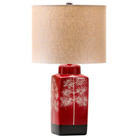 Cyan Design R-04378 Thomas 23 inch 100.00 watt Red Table Lamp Portable Light 04378 - Open Box