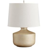 Cyan Design R-05893 Titanium Love 21 inch 100 watt Gold Table Lamp Portable Light 05893 - Open Box