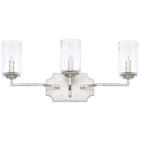 Capital Lighting R-119631SP-419 Oxford 3 Light 22 inch Silver Patina Vanity Wall Light 119631SP-419 - Open Box
