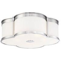 Minka-Lavery R-1824-613-L Signature LED 22 inch Polished Nickel Flush Mount Ceiling Light 1824-613-L - Open Box