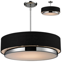 Z-Lite Jade 3 Light 22 inch Chrome Pendant Ceiling Light 187-22 - Open Box