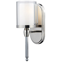 Z-Lite Argenta 1 Light 5 inch Chrome Wall Sconce Wall Light 1908-1S - Open Box