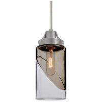 Besa Lighting R-1JT-BLINKSM-SN Blink 1 Light Satin Nickel Pendant Ceiling Light 1JT-BLINKSM-SN - Open Box