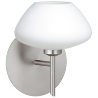 Besa Lighting R-1SW-541007-LED-SN Peri LED 5 inch Satin Nickel Mini Sconce Wall Light 1SW-541007-LED-SN - Open Box