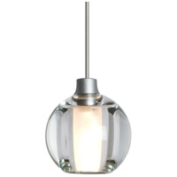 Besa Lighting R-1XT-BOCA5CL-LED-SN Boca 5 LED Satin Nickel Cord Pendant Ceiling Light 1XT-BOCA5CL-LED-SN - Open Box