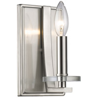 Z-Lite Verona 1 Light 5 inch Brushed Nickel Wall Sconce Wall Light 2010-1S-BN - Open Box