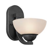 Dolan Designs R-209-46 Fireside 1 Light 7 inch Satin Nickel Wall Sconce Wall Light in Satin White Noir Bronze 209-46 - Open Box