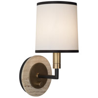 Robert Abbey R-2136 Axis 1 Light 6 inch Aged Brass with Cocoa Brown Wall Sconce Wall Light in Fondine 2136 - Open Box