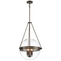 Minka-Lavery R-2292-281 Atrio 4 Light 19 inch Harvard Court Bronze Plated Pendant Ceiling Light 2292-281 - Open Box