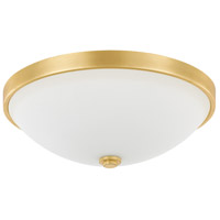 Capital Lighting R-2323CG-SW Signature 2 Light 13 inch Capital Gold Flush Mount Ceiling Light 2323CG-SW - Open Box