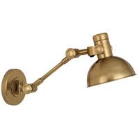Robert Abbey R-248 Rico Espinet Scout 24 inch 60 watt Antique Brass Wall Swinger Wall Light 248 - Open Box
