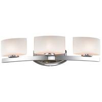 Z-Lite R-3014-3V Galati 3 Light 23 inch Chrome Vanity Wall Light in G9 3014-3V - Open Box