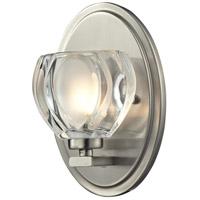 Z-Lite R-3022-1V Hale 1 Light 5 inch Brushed Nickel Vanity Wall Light in G9 3022-1V - Open Box