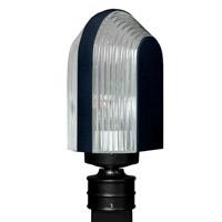 Besa Lighting R-313957-POST 3139 Series 1 Light 14 inch Black Outdoor Post Mount Costaluz 313957-POST - Open Box