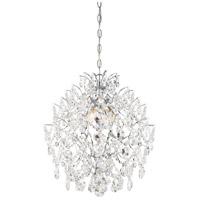 Minka-Lavery R-3156-77 Isabellas Crown 4 Light 18 inch Chrome Mini Chandelier Ceiling Light 3156-77 - Open Box