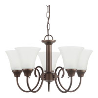 Sea Gull Holman 5 Light 20 inch Bell Metal Bronze Chandelier Ceiling Light 31808-827 - Open Box