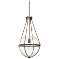 Capital Lighting R-327413NG Beaufort 1 Light 13 inch Nordic Grey Pendant Ceiling Light 327413NG - Open Box