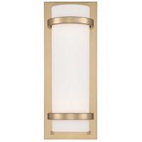 Minka-Lavery R-341-248 Signature 2 Light 7 inch Honey Gold ADA Wall Sconce Wall Light 341-248 - Open Box