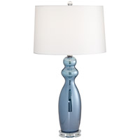 Pacific Coast R-37M96 Tagus 30 inch 150 watt Slate Blue Table Lamp Portable Light 37M96 - Open Box