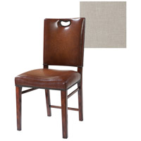 Theodore Alexander Tireless Tweed Campaign Side Chair 4000-906.1AQK - Open Box
