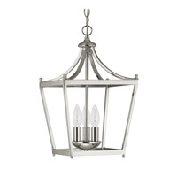 Capital Lighting Stanton 3 Light 10 inch Polished Nickel Foyer Pendant Ceiling Light  4036PN - Open Box