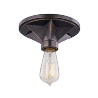 Hudson Valley Bethesda 1 Light 7 inch Old Bronze Semi Flush Ceiling Light  4080-OB - Open Box