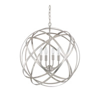 Capital Lighting Axis 4 Light 23 inch Brushed Nickel Pendant Ceiling Light 4234BN - Open Box