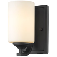 Z-Lite R-435-1S-BRZ Bordeaux 1 Light 5 inch Bronze Wall Sconce Wall Light 435-1S-BRZ - Open Box