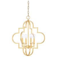 Capital Lighting Ellis 4 Light 18 inch Capital Gold Pendant Ceiling Light 4541CG - Open Box