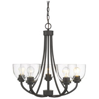 Z-Lite R-460-5-BRZ Ashton 5 Light 25 inch Bronze Chandelier Ceiling Light 460-5-BRZ - Open Box