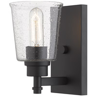 Z-Lite R-464-1S-MB Bohin 1 Light 5 inch Matte Black Wall Sconce Wall Light 464-1S-MB - Open Box