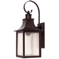 Savoy House Monte Grande 1 Light 18 inch English Bronze Outdoor Wall Lantern  5-258-13 - Open Box