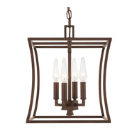 Capital Lighting R-510141BB Westbrook 4 Light 12 inch Burnished Bronze Foyer Ceiling Light 510141BB - Open Box