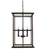 Capital Lighting West Port 4 Light 16 inch Old Bronze Foyer Light Ceiling Light 520142OB - Open Box