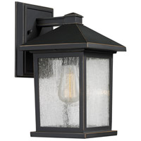 Z-Lite Portland 1 Light 10 inch Oil Rubbed Bronze Outdoor Wall Sconce 531S-ORB - Open Box