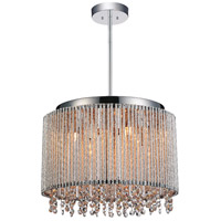 CWI Lighting R-5535P14C-R Claire 6 Light 14 inch Chrome Pendant Ceiling Light 5535P14C-R - Open Box