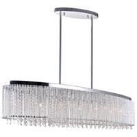 CWI Lighting R-5535P46C-O Claire 7 Light 46 inch Chrome Chandelier Ceiling Light 5535P46C-O - Open Box