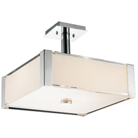 CWI Lighting R-5571P14C-S Lucie 3 Light 14 inch Chrome Pendant Ceiling Light 5571P14C-S - Open Box
