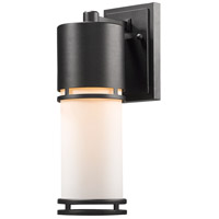 Z-Lite R-560M-BK-LED Luminata LED 14 inch Black Outdoor Wall Sconce 560M-BK-LED - Open Box