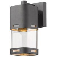 Z-Lite R-562S-BK-LED Lestat LED 9 inch Black Outdoor Wall Sconce 562S-BK-LED - Open Box