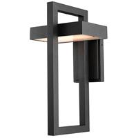 Z-Lite R-566B-BK-LED Luttrel 1 Light 18 inch Black Outdoor Wall Sconce 566B-BK-LED - Open Box