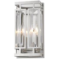 Z-Lite Mersesse 2 Light 6 inch Brushed Nickel Wall Sconce Wall Light 6006-2S-BN - Open Box