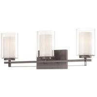 Minka-Lavery R-6103-172 Parsons Studio 3 Light 24 inch Smoked Iron Bath Bar Wall Light 6103-172 - Open Box
