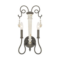 Capital Lighting R-610321FC Vineyard 2 Light 10 inch French Country Sconce Wall Light 610321FC - Open Box