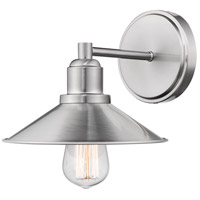 Z-Lite R-613-1V-BN Casa 1 Light 10 inch Brushed Nickel Vanity Wall Light 613-1V-BN - Open Box