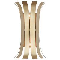 Capital Lighting R-632721AP Cayden 2 Light 9 inch Aged Brass Painted Sconce Wall Light 632721AP - Open Box