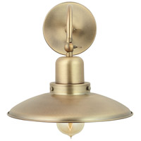 Capital Lighting R-634811AD Signature 1 Light 10 inch Aged Brass Sconce Wall Light 634811AD - Open Box