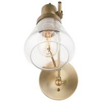 Capital Lighting Signature 1 Light 6 inch Aged Brass Sconce Wall Light 634812AD-480 - Open Box
